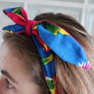 Kit couture – Oiseau de feu – headband