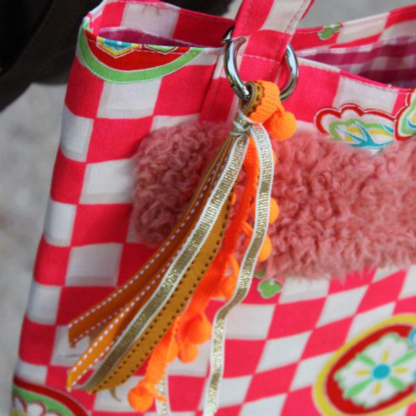 pompon pour sac DIY