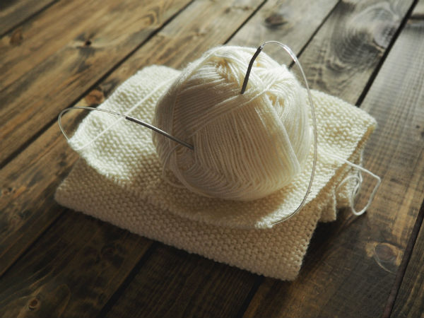 DIY couture tricot