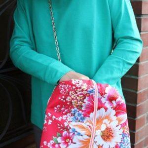 Mon sac très fleuri et très fille !