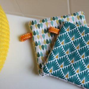 Kit couture – Pour le bord de mer, blanc – 5 lingettes démaquillantes