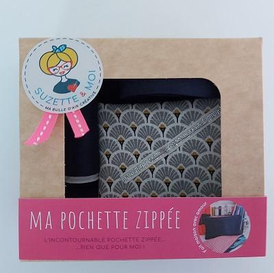 kit de couture débutant pochette en tissu boite colis Suzette et moi kit