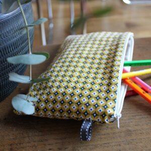 Kit couture – Flashback mosaïk – Pochette zippée