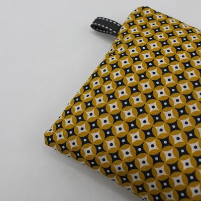 DIY pochette zippée