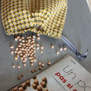 Kit couture – Flashback mosaïk – Sac lien coulissant