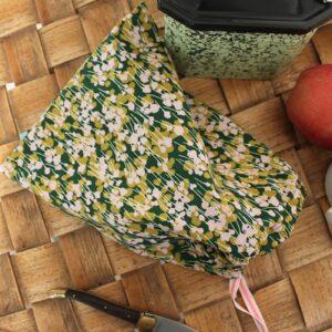 Kit couture – Dans les herbes folles – Sac lien coulissant