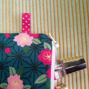 Kit couture – Dans le jardin botanique de Kyoto – Pochette zippée
