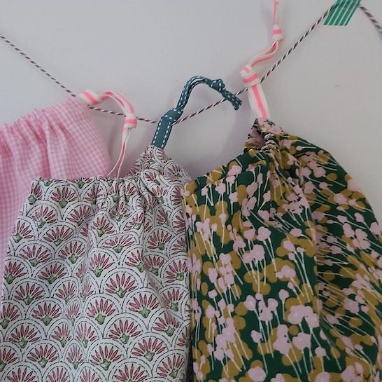 sacs à bazar Suzette et moi - herbes folles