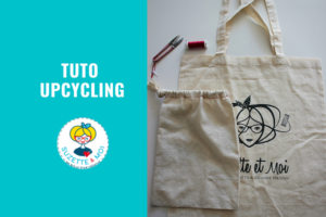 Tuto Upcycling : Comment coudre un sac à bazar à partir d'un tote bag ?