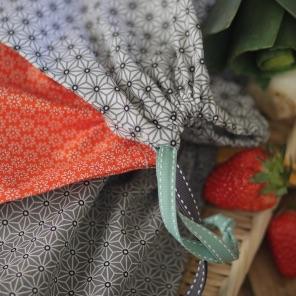 Kit couture – Triplettes Zen – 3 sacs lien coulissant